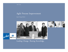 Agile Process Improvement - Carnegie Mellon University