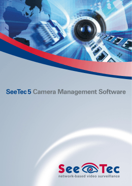 SeeTec 5 Camera Management Software