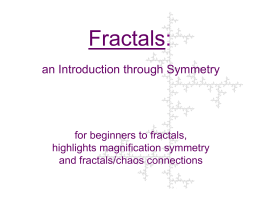 Fractals - Paul Bourke
