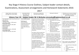 KS4 History Course Outlines 2016-2017 pdf