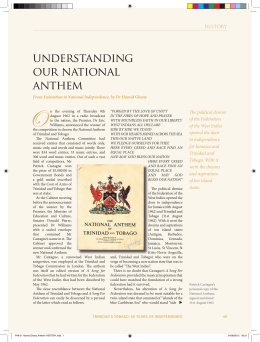 understanding our national anthem