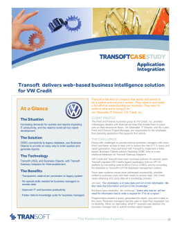 Transoft Case Study