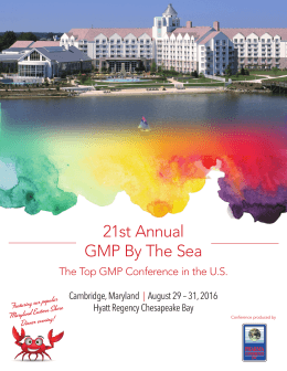 21st Annual GMP By The Sea