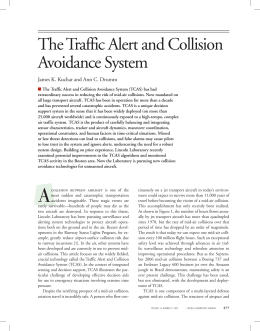 The Traffic Alert and Collision Avoidance System
