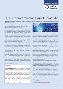 Full Article - Australia Japan Cable
