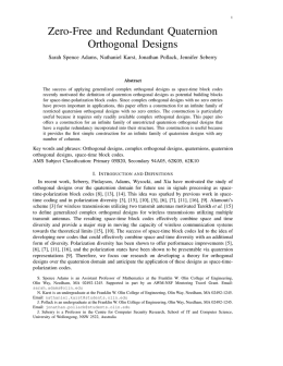 Zero-Free and Redundant Quaternion Orthogonal Designs