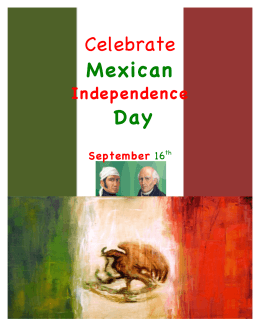 Celebrate Mexican Day