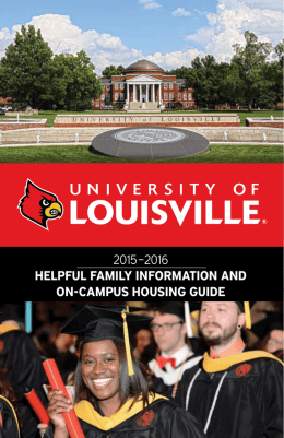 University of Louisville 2015-2016 Helpful Family