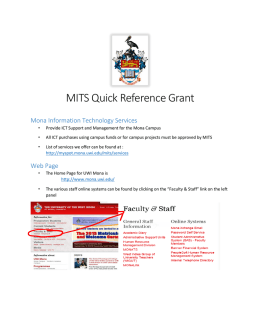 MITS Quick Reference Grant