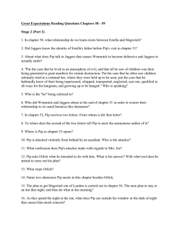 Great Expectations Reading Questions Chapters 50