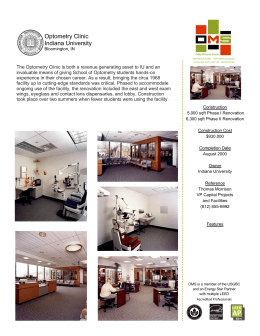 Optometry Clinic Indiana University