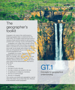 geographer`s toolkit - Oxford University Press