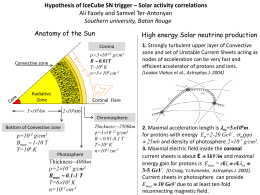 Anatomy of the Sun High energy Solar neutrino production