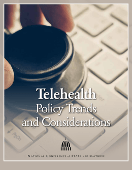 Telehealth policy trends and considerations