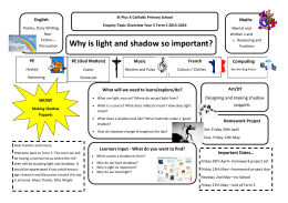 Why is light and shadow so important?