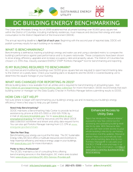 DC Building Energy Benchmarking Flyer
