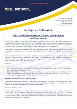 Intelligence Notification