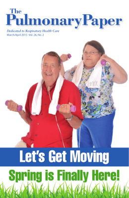 Let`s Get Moving - Pulmonary Paper