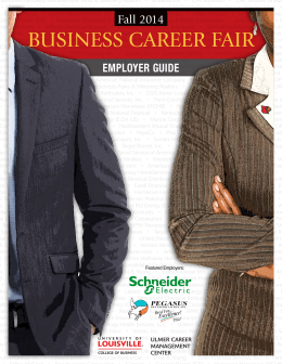 Fall 2014 Business Career Fair