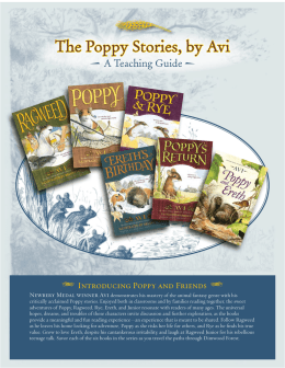 The Poppy Stories, by Avi