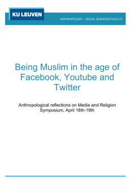 Being Muslim in the age of Facebook, Youtube and