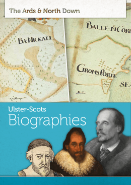 Ulster-Scots - Visit Ards and North Down