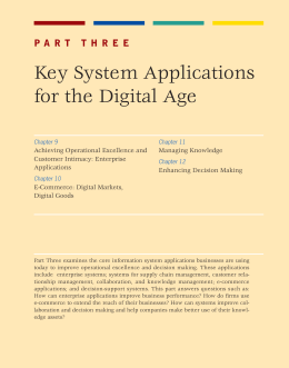 13. Part 3 Key System Applications for the Digital Age