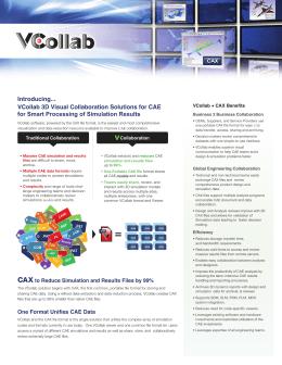 Introducing... VCollab 3D Visual Collaboration Solutions for CAE for