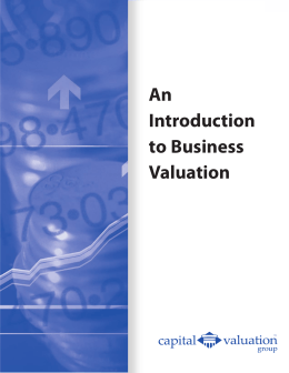 An Introduction to Business Valuation PDF
