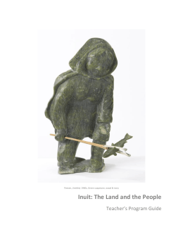 Inuit: The Land and the People