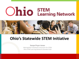 Sonya Pryor-Jones (Ohio STEM)