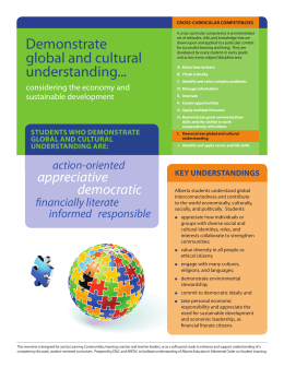 Demonstrate Global and Cultural Understanding – Colour