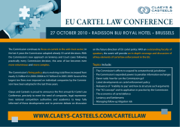 eu cartel law conference