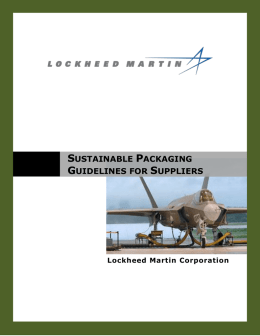 sustainable packaging guidelines for suppliers