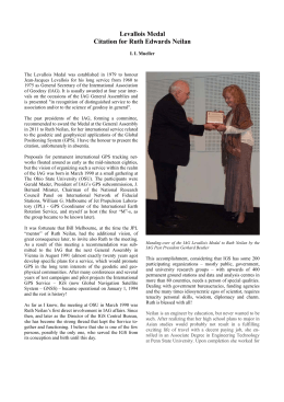 Levallois Medal Citation for Ruth Edwards Neilan
