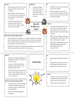 Electricity - Deansbrook Junior School