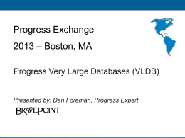 Progress Exchange 2013 – Boston, MA