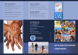 Youth Care brochure