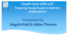 Youth Care UPA LCP
