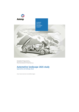 Automotive Landscape 2025