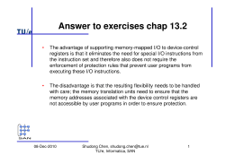 Answer to exercises chap 13.2