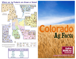 Ag Facts - Colorado Farm Bureau