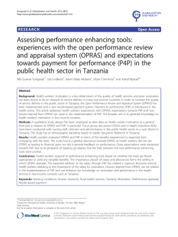 Assessing performance enhancing tools: experiences with the open