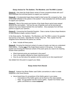 essays about the seafarer Essays from bookrags provide great ideas for the seafarer essays and paper  topics like essay view this student essay about the seafarer.