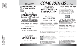 35th Annual Social Ministry Convocation