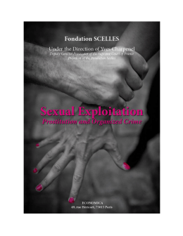 Sexual Exploitation: Prostitution and Organized