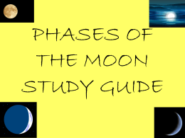 Moon Phase Review Power Point