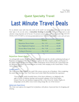 Quest Specialty Travel