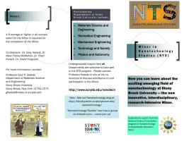 NTS Brochure - Stony Brook University