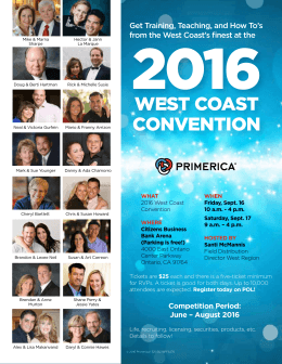 west coast convention